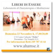 WORKSHOP MEDITAZIONE E DANZATERAPIA