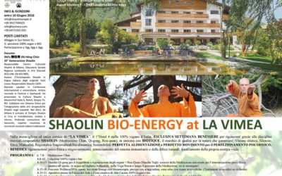 SHAOLIN BIO-ENERGY at LA VIMEA